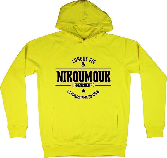 Sweat à capuche Nikoumouk Jaune by [FRENCHKIFF]