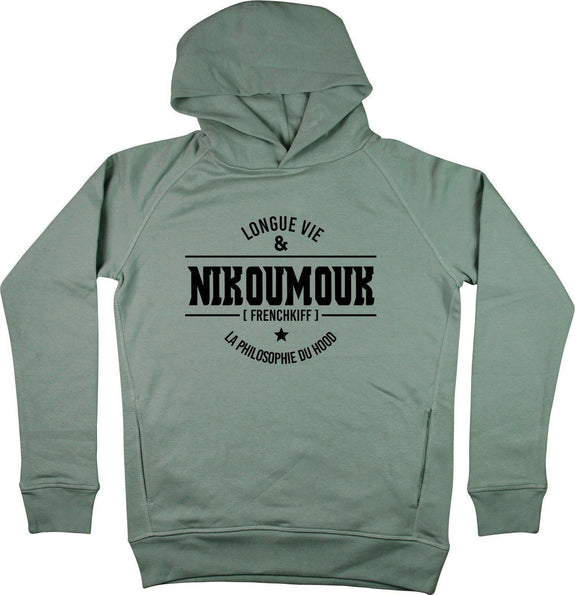 Sweat à capuche Nikoumouk Kaki by [FRENCHKIFF]