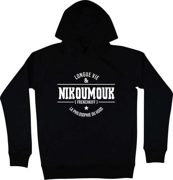 Sweat à capuche Nikoumouk Noir by [FRENCHKIFF]
