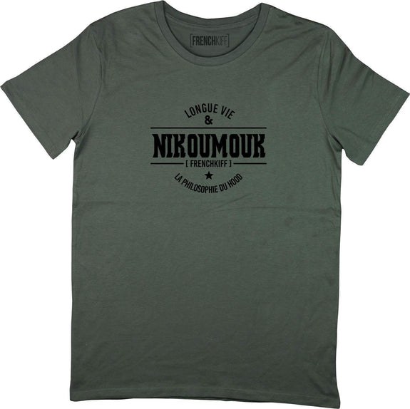 T-shirt Nikoumouk Kaki by [FRENCHKIFF]