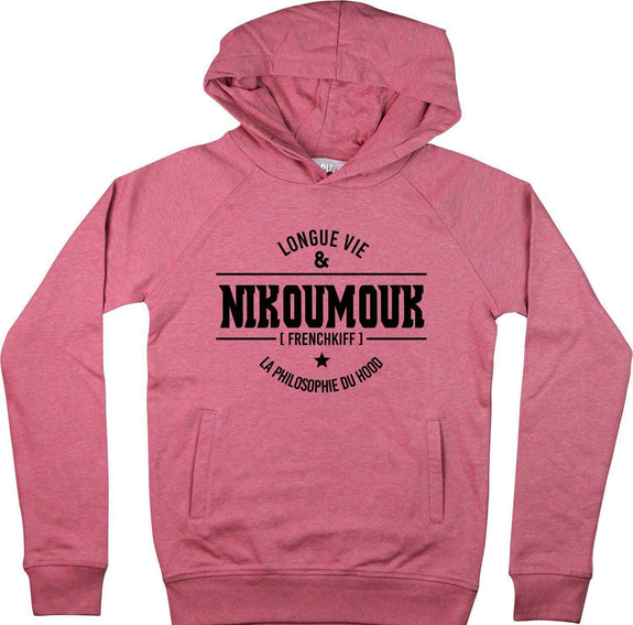 Sweat à capuche Nikoumouk Rose by [FRENCHKIFF]