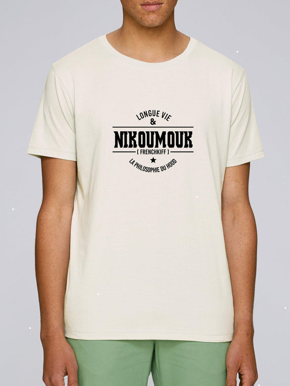T-shirt Nikoumouk Blanc by [FRENCHKIFF]