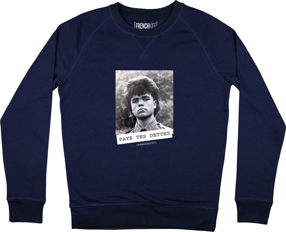 Sweatshirt Paye tes dettes - Tyrion Lannister Bleu marine by [FRENCHKIFF]