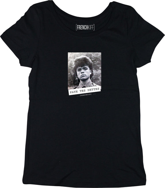 T-shirt Femme Paye tes dettes - Tyrion Lannister Noir by [FRENCHKIFF]