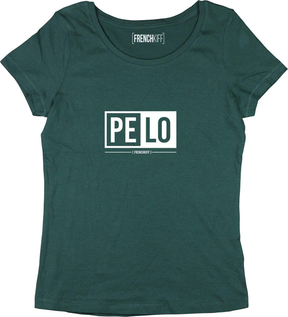 T-shirt Femme Pelo Vert bouteille by [FRENCHKIFF]