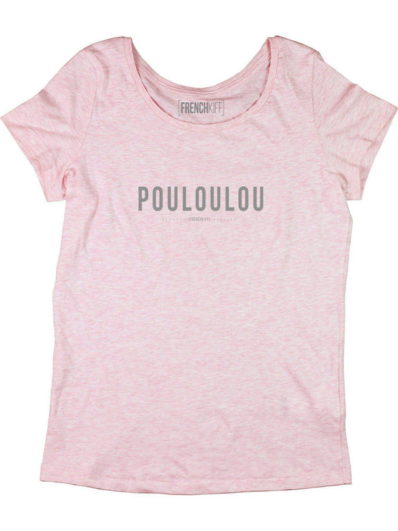 T-shirt Femme Pouloulou Rose by [FRENCHKIFF]