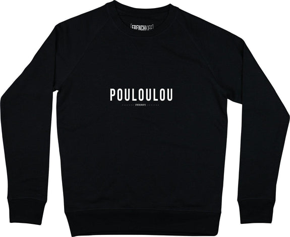 Sweatshirt Pouloulou Noir by [FRENCHKIFF]