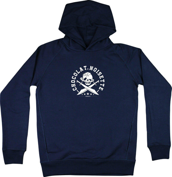 Sweat à capuche Sinok Bleu marine by [FRENCHKIFF]