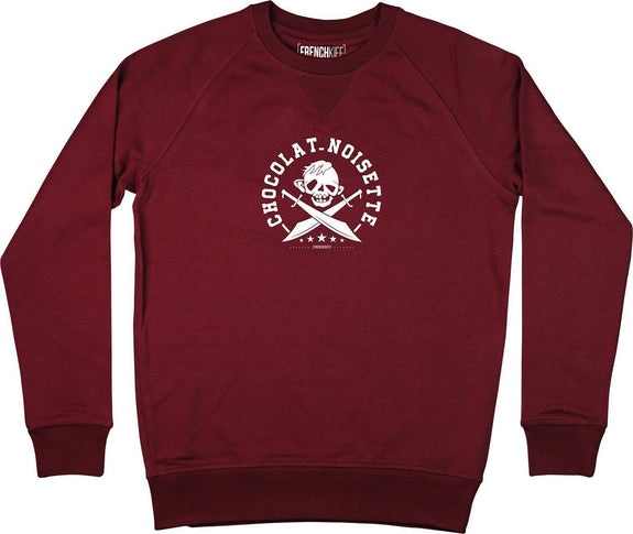 Sweatshirt Sinok Bordeaux by [FRENCHKIFF]
