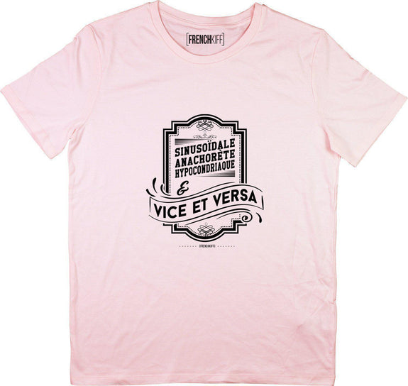 T-shirt Vice et Versa Rose by [FRENCHKIFF]