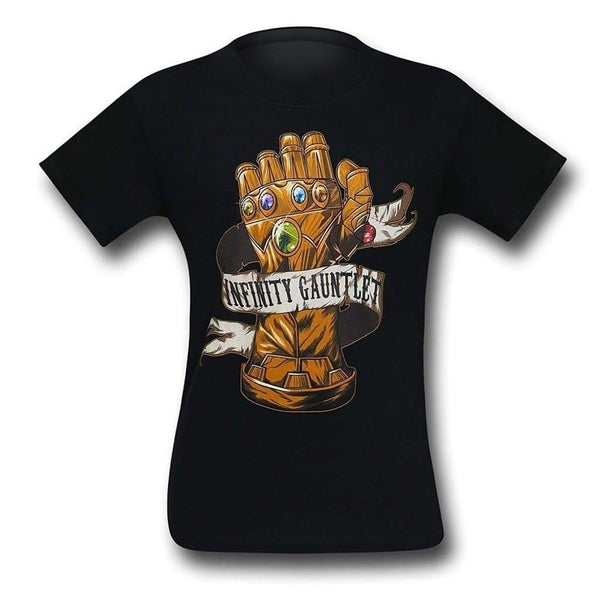 100% Cotton Thanos Infinity Gauntlet Mens T-Shirt-Marvel Comics Cosplay-WickyDeez