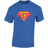 Super Dad Fathers Day Gift Tee Top T Shirt