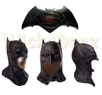 Deluxe Full Head Justice League Batman Cosplay Mask With Goggles-DC Comics Cosplay-WickyDeez