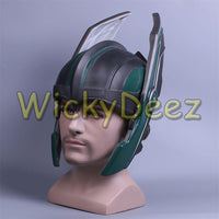 Thor 3 Ragnarök Helmet Chris Hemsworth Cosplay PVC Helmet Handmade Mask-Marvel Comics Cosplay-WickyDeez