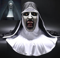 Hot New 2018 The Nun Full Head Mask Cosplay Costume Conjuring Valak Scary Horror Replica Prop-WickyDeez-WickyDeez