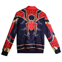 2018 Infinity War Spider-man Cosplay Hoodie Jacket Superhero Coat Avengers 3-Marvel Comics Cosplay-WickyDeez
