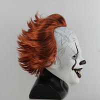 2019 Pennywise It Movie Mask Stephen King's It Horror Cosplay Costume Prop Mask-Horror Theme-WickyDeez