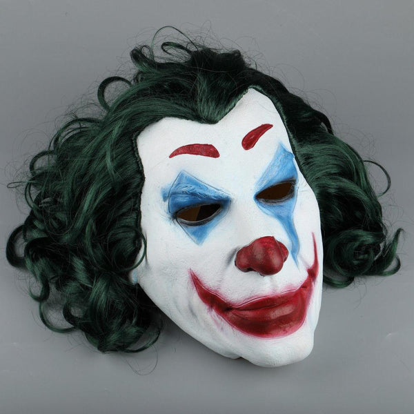 2019 The Joker Movie Mask Joaquin Phoenix Cosplay Comic Con Halloween Clown Mask-DC Comics Cosplay-WickyDeez
