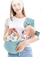 Multi-Purpose Adjustable Baby Sling Carrier | Soft Compact for Newborns - WickyDeez