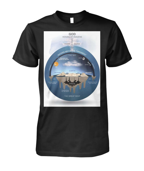 Flat Earth Unisex Shirt-Short Sleeves-WickyDeez