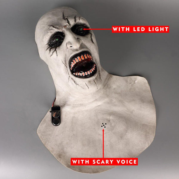 Special Edition: The Nun Mask with Glowing LED Eyes and