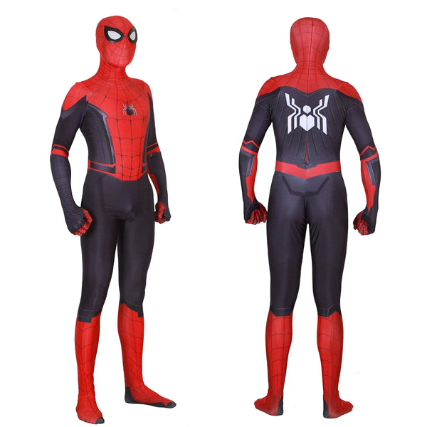 Far From Home Kids & Adult Spider-man Cosplay Movie Costume 3D Style Lycra Spandex Zentai-Marvel Comics Cosplay-WickyDeez