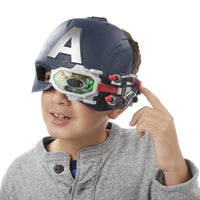 Captain America: Civil War Scope Vision Helmet-Marvel Comics Cosplay-WickyDeez