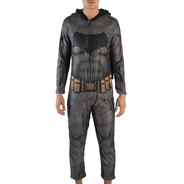 Mens Dawn of Justice Batman Union Onesie Cosplay Suit-DC Comics Cosplay-WickyDeez