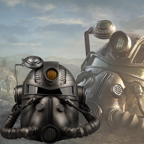 Fallout 76 Wearable T-51 Power Armor Helmet Fall Out Mask Prop-Fallout-WickyDeez