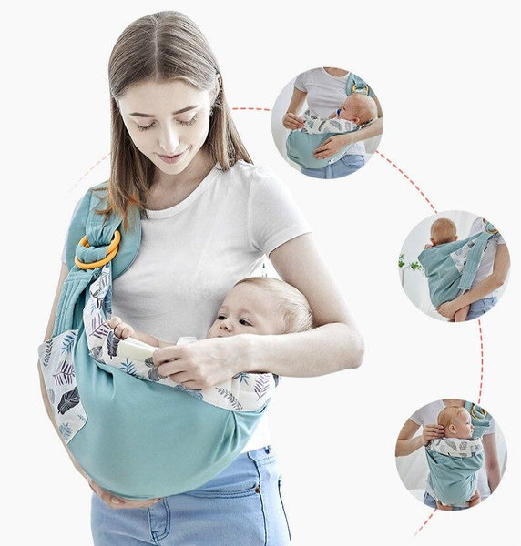 Multi-Purpose Adjustable Baby Sling Carrier | Soft Compact for Newborns