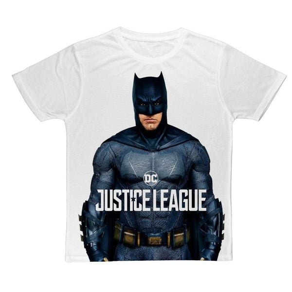 Batman Justice League Ben Affleck Canvas Size - Unisex Tee Shirt - WickyDeez