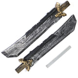 2019 Endgame Thanos DOUBLE-EDGED SWORD Cosplay Costume Prop Weapon Avengers-Marvel Comics Cosplay-WickyDeez