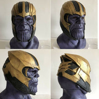New Endgame Thanos Mask Avengers Infinity War / Endgame Full Handmade Mask FREE SHIPPING-Marvel Comics Cosplay-WickyDeez