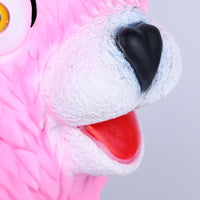 Fortnite Cuddle Team Leader Mask Cosplay Pink Bear Halloween Rep Prop-Computer Game Cosplay-WickyDeez