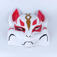 Full Head Fortnite Fox Drift Mask Cosplay Fortnite Kitsune Face Costume Mask Halloween-Computer Game Cosplay-WickyDeez