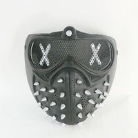 Watch Dogs 2 Deadsec Aiden Pearce Wrenc Cosplay Mask Half Face Mouth-Muffle Prop-Computer Game Cosplay-WickyDeez
