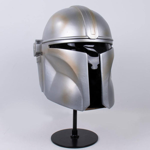 The Mandalorian Season 1 Helmet Cosplay Costume Hard PVC Mask | Inspired by the Star Wars and The Mandalorian Series