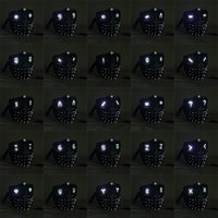 NEW Version 25 Changeable Emoji LED Light Eyes Faces Watch Dogs 2 Mask Marcus Holloway Wrench Rivet Cosplay Mask with Remote Control WickyDeez