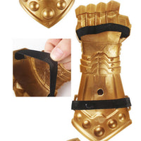 Thanos Infinity War Gauntlet Glove | Avengers Cosplay Prop Finger Glove - WickyDeez