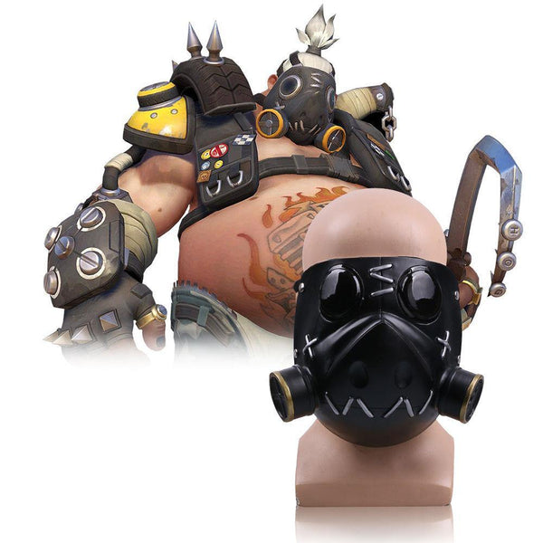 Handmade Overwatch Roadhog Mako Rutledge Helmet Mask Cosplay Costume Mask New-Computer Game Cosplay-WickyDeez