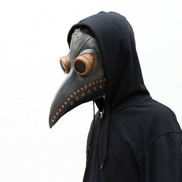 Steampunk Plague Doctor Mask Cosplay Game Costume Prop | Choose from Six Mask Styles - WickyDeez