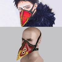 My Hero Academia Overhaul Mask Doctor Kai Chisak Cosplay Crow Handmade Mask - WickyDeez