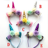 My Little Pony Unicorn Headbands in 4 Colors at WickyDeez