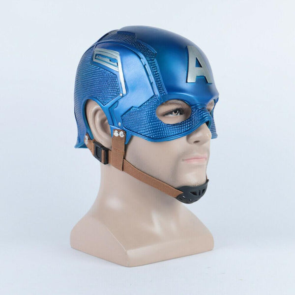 NEW Captain America Endgame Avengers Mask Cosplay Costume Helmet Prop Mask-Marvel Comics Cosplay-WickyDeez