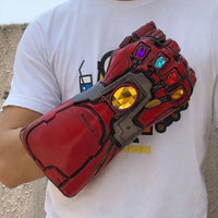 NEW Alternate Version 2019 Avengers: Endgame Iron Man Infinity Gauntlet Snap Stark Replica Prop Glove-Marvel Comics Cosplay-WickyDeez