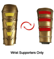 2019 Shazam Movie Custom Made Shazam Cosplay Costume Boots | Belt | Wrist Supporters - Free Shipping-DC Comics Cosplay-wrist supports only-S-Male-WickyDeez