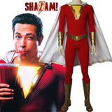 2019 Shazam Movie Custom Made Shazam Cosplay Costume Boots | Belt | Wrist Supporters - Free Shipping-DC Comics Cosplay-WickyDeez