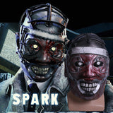 Spark Of Madness Game Dead by Daylight Cosplay Costume Mask The Scary Doctor-Computer Game Cosplay-WickyDeez