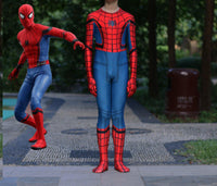 Spider-Man Homecoming Kids Children's 3D Spiderman Cosplay Costume & Mask-Marvel Comics Cosplay-WickyDeez