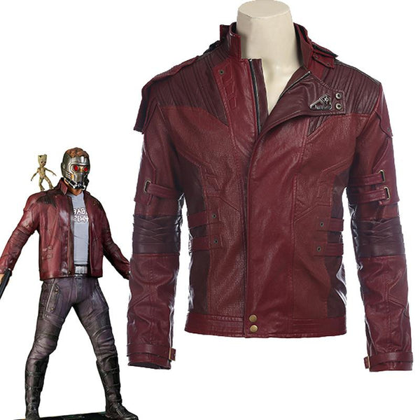 Star Lord Jacket Guardians of the Galaxy 2 Cosplay Costume Starlord Jacket-Marvel Comics Cosplay-WickyDeez